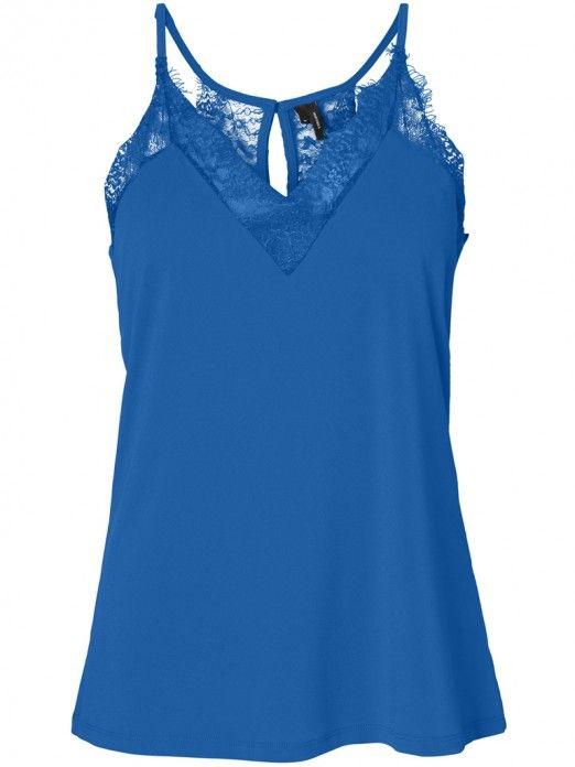 Top Mujer Azul Vero moda 10209420
