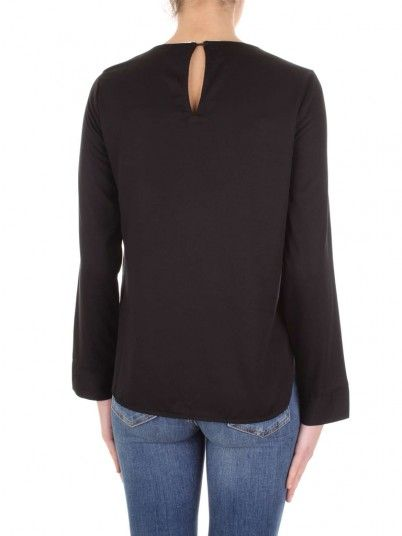 Top Women Black Vero moda 10210107