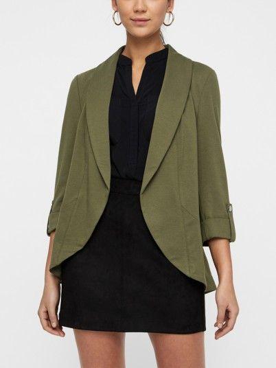 Blazer Mujer Verde Vero moda 10211566
