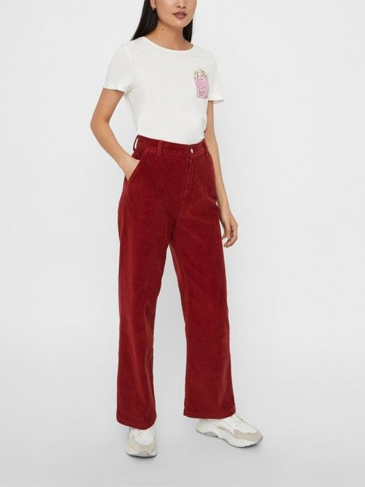 T-Shirt Mujer Rosa Vero moda 10211942