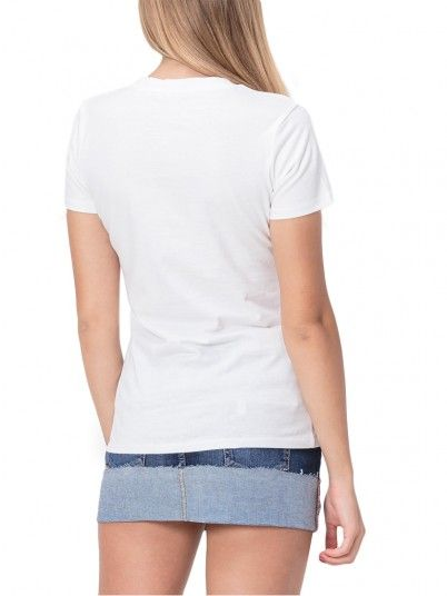 T-Shirt Mujer Blanco Guess W92I59K75R0