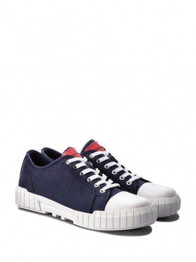 Sneakers Man Navy Blue Calvin Klein