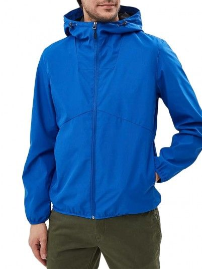 Jackets Men Blue Produkt 12136704