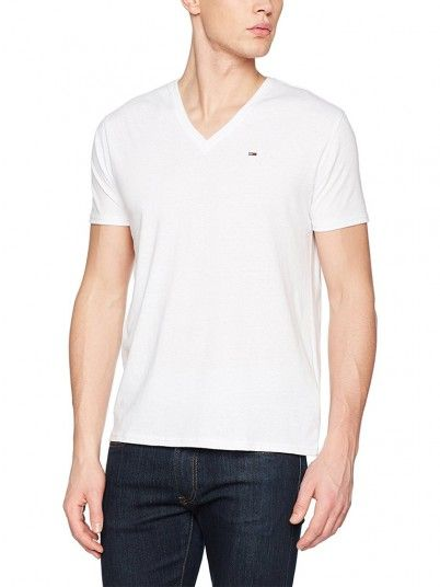T-Shirt Men White Tommy DM0DM04412