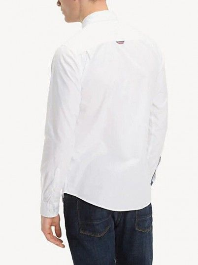 Camisas Hombre Blanco Tommy N19DM0DM04406