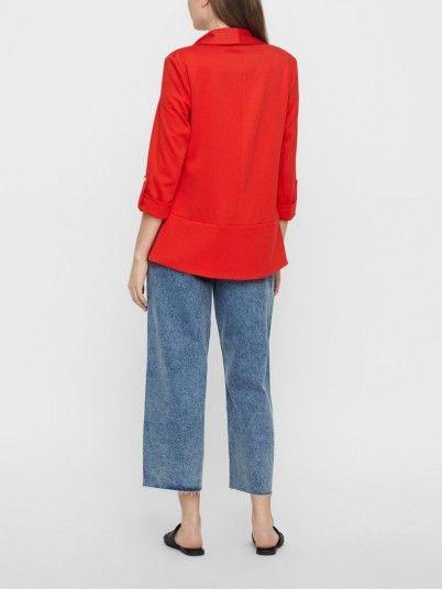 Blazer Woman Red Vero Moda