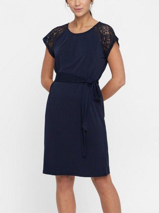 Dress Woman Navy Blue Vero Moda