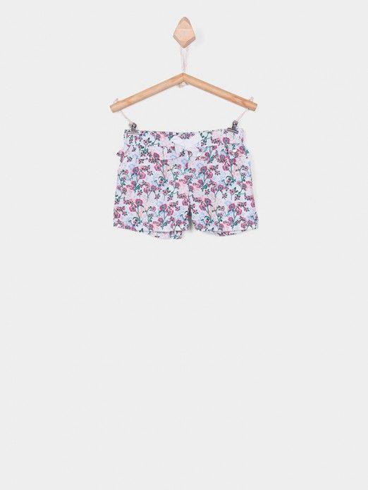 Shorts Girl Floral Tiffosi Kids 10026690