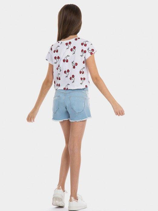 T-Shirt Menina Mint Tiffosi