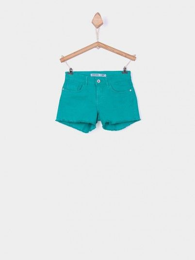 Shorts Girl Green Tiffosi Kids 10026772