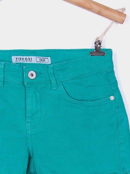 Shorts Girl Green Tiffosi Kids
