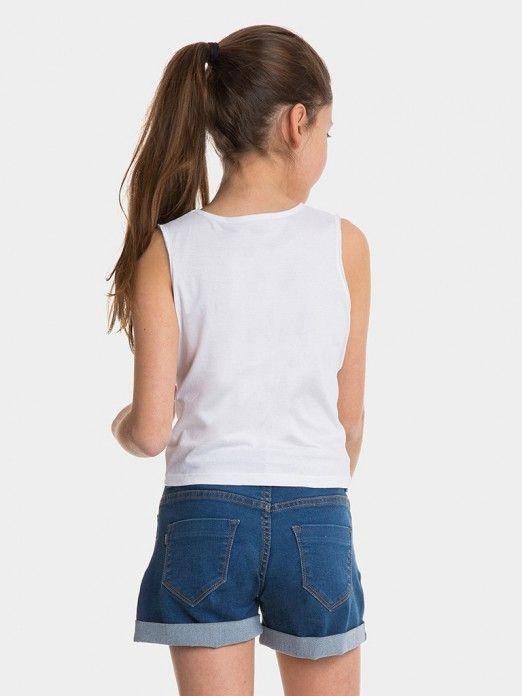 Top Niña Blanco Tiffosi Kids 10026782
