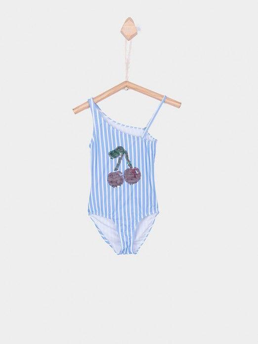 Swimsuit Girl Blue Tiffosi Kids