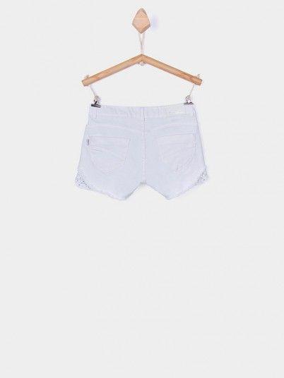 Shorts Girl White Tiffosi Kids