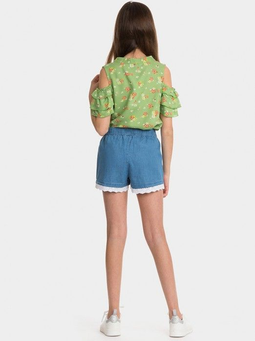 Pantalones cortos Niña Ganga Tiffosi Kids 10027411