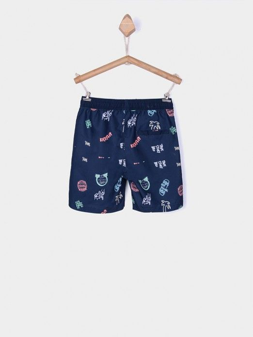 Shorts Boy Navy Blue Tiffosi Kids