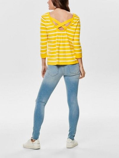 Knitwear Woman Yellow Only