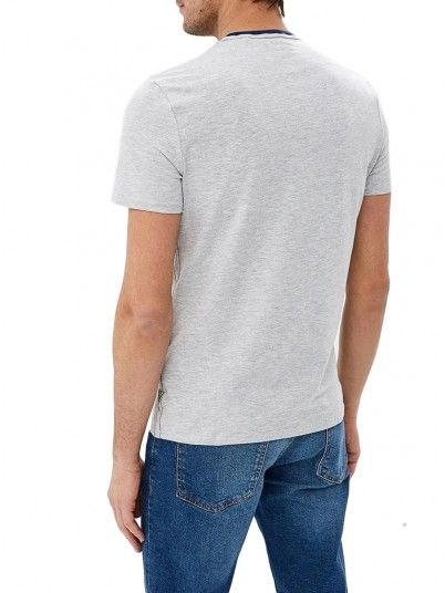 T-Shirt Hombre Gris Guess M92I24J1300