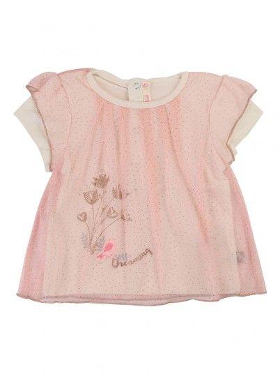 T-Shirt Bebé Niña Rosa Claro Billie Blush U05293