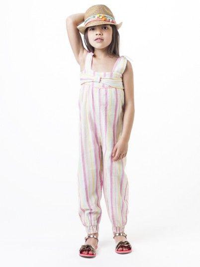 Jumpsuit Girl Multicolor Billie Blush U14300