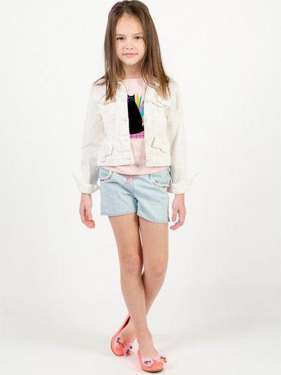 Shorts Girl Light Jeans Billie Blush