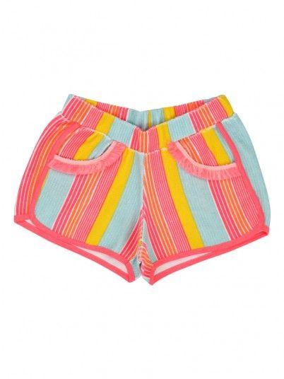 Pantalones cortos Niña Multicolor Billie Blush U14313