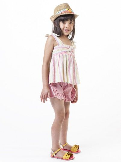 Top Niña Multicolor Billie Blush U15595