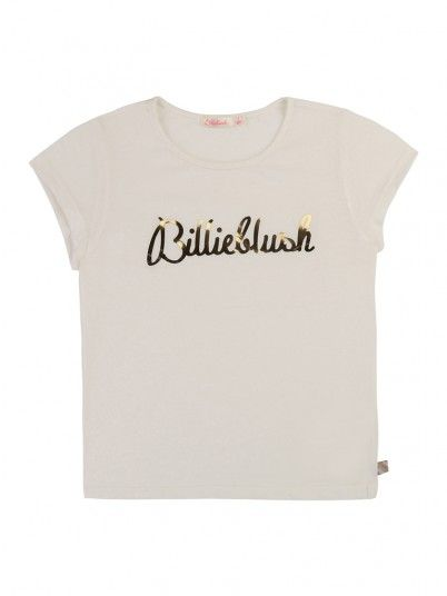 T-Shirt Niña Blanco Billie Blush U15P02