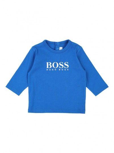 T-Shirt Bebé Niño Azul Hugo Boss J05715