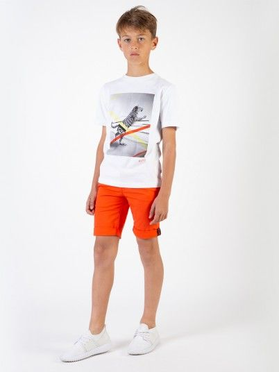 T-SHIRT MENINO HUGO BOSS