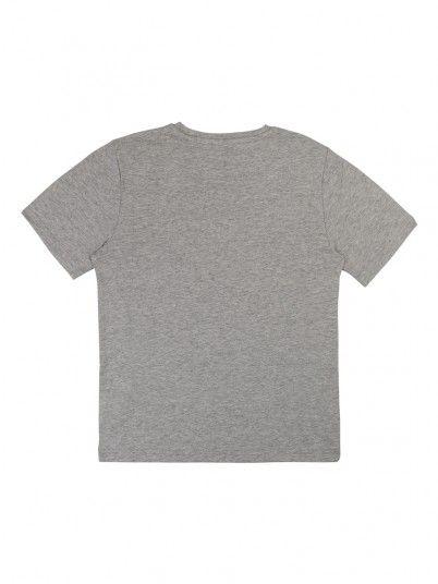T-Shirt Boy Grey Hugo Boss J25D91