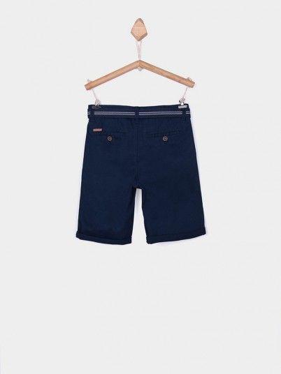 Shorts Boy Navy Blue Tiffosi Kids