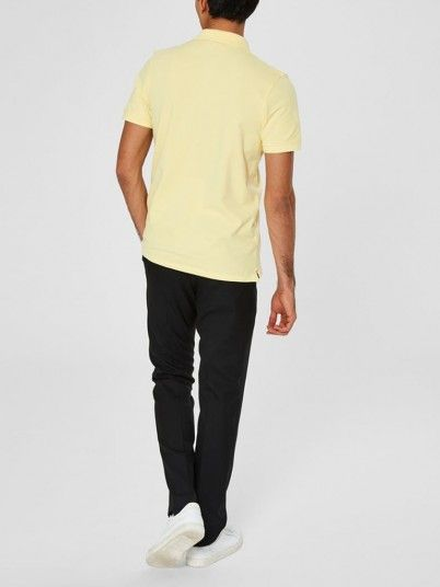Polo Hombre Amarillo Selected N1916049517