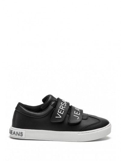 Sneaker Women Black Versace E0VTBSF3