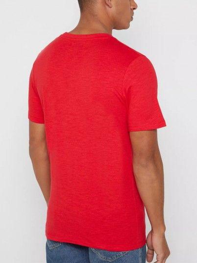 T-Shirt Hombre Rojo Produkt 12149712