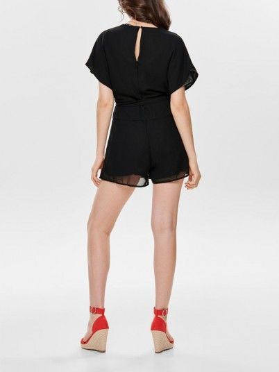 Mono Mujer Negro Only 15175462