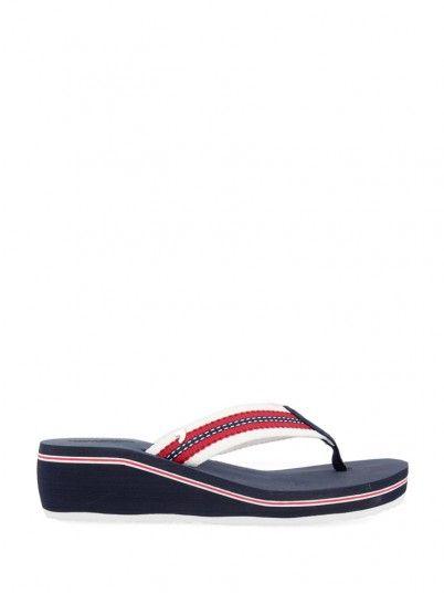 Flip Flops Women Navy Blue Gioseppo 48667