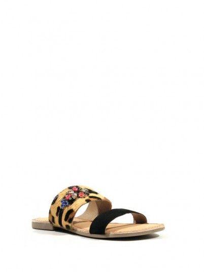 Pantofole Donna Gioseppo Animal Print Gioseppo