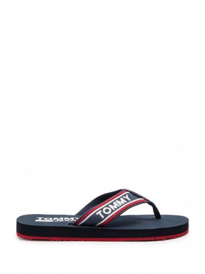 Flip Flops Men Navy Blue Tommy EM0EM00218