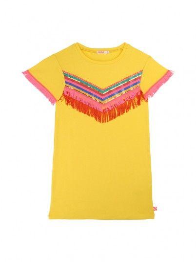 Vestidos Niña Amarillo Billie Blush U12471