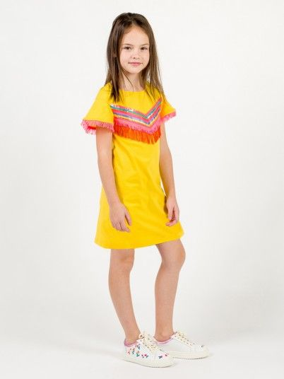 Dress Girl Yellow Billie Blush U12471