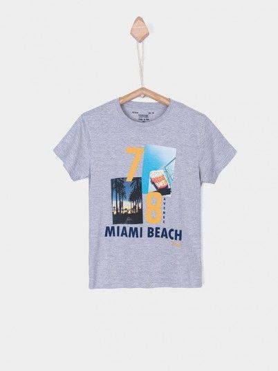 T-Shirt Menino Dude Tiffosi