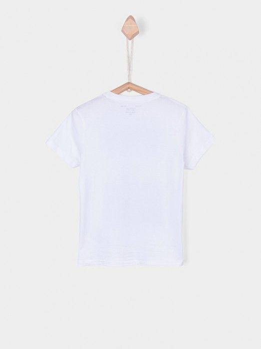 T-Shirt Boy White Tiffosi Kids 10026380