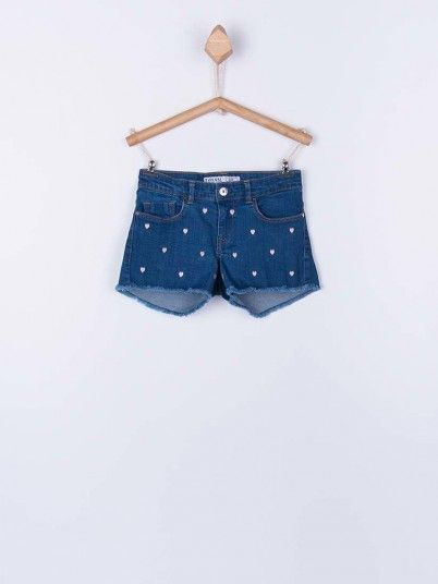 Shorts Girl Denim Tiffosi Kids 10026988