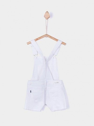 Jumpsuit Girl White Tiffosi Kids 10026776
