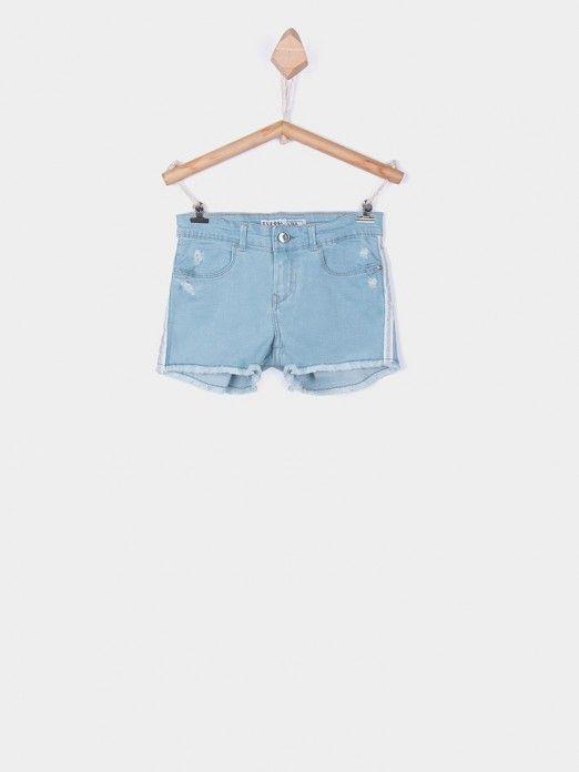 Pantalones cortos Niña Por Supuesto Los Pantalones Vaqueros Tiffosi Kids 10026991