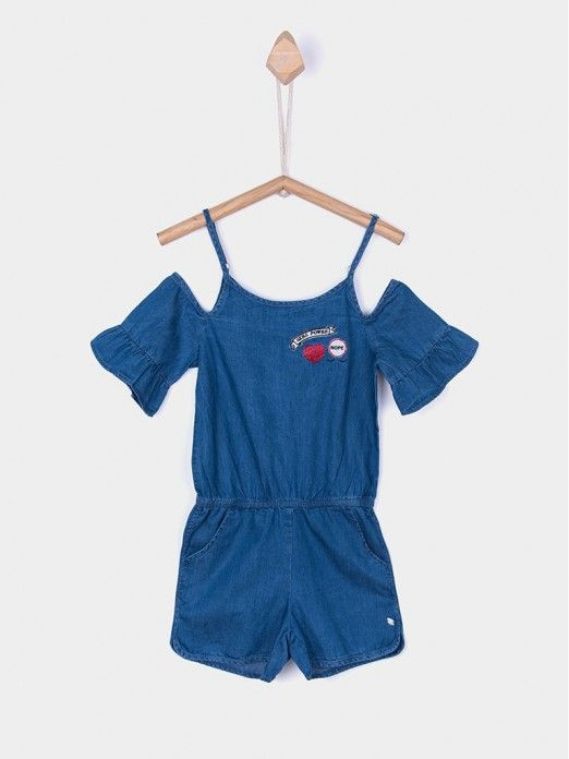 Jumpsuit Girl Denim Tiffosi Kids 10027312