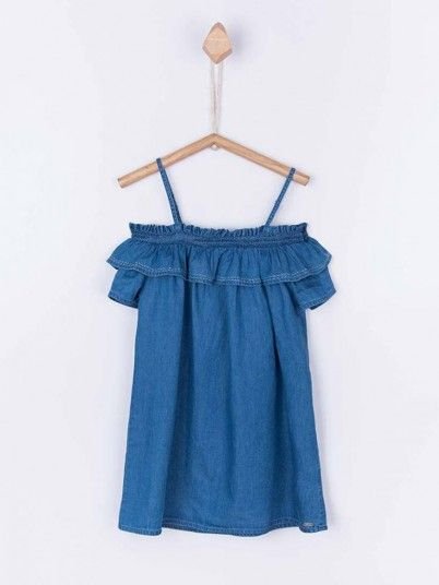 Dress Girl Denim Tiffosi Kids 10027392