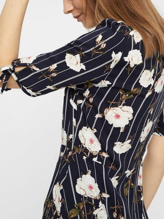 Vestidos Mujer Azul Marino Vero moda 10211516
