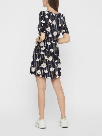 Dress Women Navy Blue Vero moda 10211516